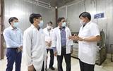 Проверка для обеспечения безопасности цепочки поставок животноводства в двух уездах Тханьоай и Чыонгми