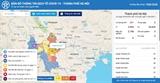 Ханой запускает эпидемиологическую информационную карту COVID-19