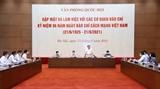 Chủ tịch Quốc hội Vương Đình Huệ: Báo chí đưa hơi thở cuộc sống vào nghị trường