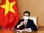 Заместитель премьер-министра Ву Дык Дам предложил ВОЗ ускорять поставку вакцины Вьетнаму