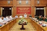 La Commission militaire centrale pour le mandat 2020-2025 se réunit