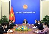 Conversation téléphonique entre le président vietnamien et le secrétaire général de lONU