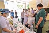 Bộ Y tế kiểm tra công tác phòng chống dịch COVID-19 tại Nghệ An