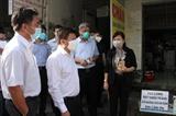 Đoàn công tác Bộ Y tế kiểm tra công tác phòng chống dịch COVID-19 tại Bình Dương