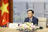 Chủ tịch Quốc hội Vương Đình Huệ hội đàm với Chủ tịch Hạ viện Australia