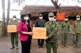 Phó Chủ tịch nước Võ Thị Ánh Xuân thăm lực lượng chống dịch COVID-19 ở biên giới Tây Nam