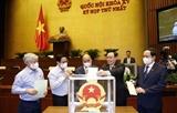 越南第十五届国会第一次会议:选举产生国会各直属机构领导