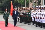 Bộ trưởng Quốc phòng Liên hiệp Vương quốc Anh và Bắc Ireland thăm chính thức Việt Nam