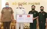 Bộ Quốc phòng Việt Nam tặng Cuba thiết bị vật tư y tế phòng chống dịch COVID-19
