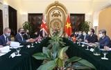 Việt Nam đề nghị Anh tiếp tục ưu tiên hỗ trợ tiếp cận nguồn cung vaccine