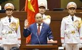 グエン・スアン・フック氏、国家主席に再選