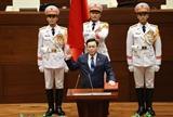 Председатель НС принял поздравления от председателя Постоянного комитета ВНК