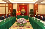 Tổng Bí thư Nguyễn Phú Trọng điện đàm với Bí thư thứ nhất Đảng Cộng sản Cuba