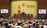Dernier jour de travail de la première session de la 15e Assemblée nationale