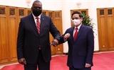 Премьер-министр Фам Минь Тьинь принял министра обороны США Ллойда Остина