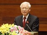 Генеральный секретарь ЦК КПВ Нгуен Фу Чонг призывал большие усилия в борьбе с пандемией COVID-19