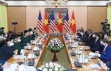 ベトナム・アメリカ 国防協力を促進
