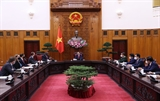 미국 베트남의 강성 독립 번영 지지