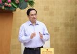 Премьер-министр Фам Минь Тьинь: необходимые новые идеи и решения в профилактике и борьбе с COVID-19