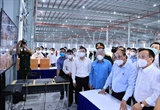 Президент посетил пораженную пандемией провинцию Биньзыонг