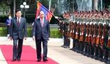 国家主席阮春福的访老之行取得全面且务实的结果