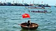 Festival de carreras de botes Tu Linh en Ly Son