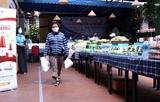 하노이 가난한 노동자를 위한 식량 및 식품 공급