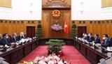 Thủ tướng Phạm Minh Chính tiếp Phó Tổng thống Bộ trưởng Ngoại giao Liên bang Thụy Sỹ