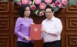 Premier de Vietnam entrega decisión sobre nombramiento de nueva directora general de la VNA