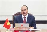 Президент Нгуен Суан Фук провел телефонный разговор с российским коллегой