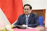 Премьер-министр Фам Минь Тьинь провел телефонный разговор с канцлером Австрии Себастьяном Курцем