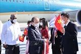 Vietnamese President arrives in Havana beginning official friendly visit to Cuba