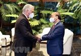 Presidente Miguel Díaz-Canel: Cuba ha sentido siempre acompañada por la probada solidaridad vietnamita