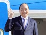 제76차 유엔 총회 참석을 위해 뉴욕에 도착한 응웬쑤언푹 국가주석