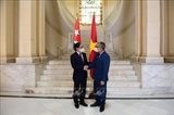 부이 타인 선 외교부 장관 마르셀리노 메디나 쿠바 외교부 장관 대행과 회담