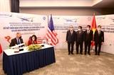 Chủ tịch nước Nguyễn Xuân Phúc chứng kiến lễ ký thoả thuận hợp tác trị giá 2 tỷ USD giữa Bamboo Airways và General Electric