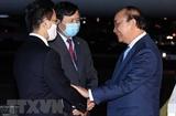 Le président Nguyen Xuan Phuc reçoit des amis américains