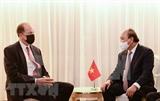 Президент Нгуен Суан встречается с иностранными лидерами и президентом Всемирного банка в Нью-Йорке