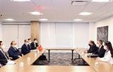 Президент Нгуен Суан Фук принял представителей корпораций и бизнеса США