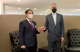 76-я сессия ГА ООН: министр иностранных дел Буй Тхань Шон провел встречи