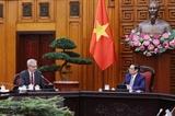 Le PM Pham Minh Chinh reçoit lambassadeur de France au Vietnam Nicolas Warnery