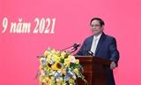 Thủ tướng: Học viện Quốc phòng lấy nhà trường làm nền tảng giảng viên làm động lực học viên làm trung tâm