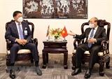 응웬쑤언푹(Nguyễn Xuân Phúc) 국가주석  각국가 지도자와 면담