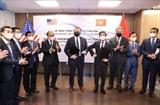 Chủ tịch nước chứng kiến Lễ trao thỏa thuận hợp tác giữa liên danh Công ty Kinh Bắc và Công ty Công nghệ viễn thông Sài Gòn và Tập đoàn Quantum