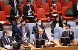 Climat : Le président Nguyen Xuan Phuc participe à une réunion du Conseil de sécurité de lONU
