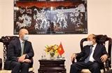 Президент Нгуен Суан Фук принял ведущие энергетические предприятия США