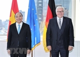 President meets German counterpart concludes US trip