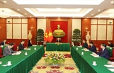 Tổng Bí thư Nguyễn Phú Trọng điện đàm với Tổng Bí thư Chủ tịch nước Trung Quốc Tập Cận Bình