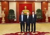 Высшие руководители Вьетнама Камбоджи и Лаоса обсудили направления сотрудничества