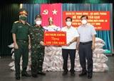 Quân ủy Trung ương Bộ Quốc phòng hỗ trợ người dân Tây Ninh 100 tấn gạo